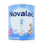 NOVALAC 2 Lait en poudre 2ème âge B/800g à POISY